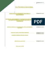 estudio RCM subestaciones