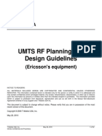 UMTS RF Planning Guidelines 20070117
