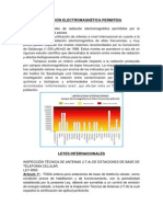 RADIACIÓN ELECTROMAGNÉTICA PERMITIDA