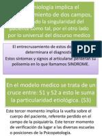 La Semiologia Implica El Entrecruzamiento de Dos Campos F TUÑON CLASE 2