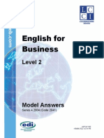 English 4 Business - Level 2