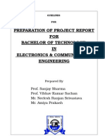 Format of Project Report