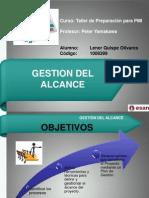 Gestion Del Alcance