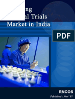 Booming Clinical Trials Market in India