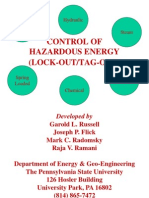 Control of Hazardous Energy(PSU-DHCmod)