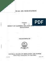 Design of Earthing Mat