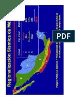 Mexico Seismic Zone