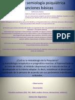 Semiología Psiquiátrica Clase 2