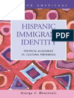 Hispanic Immigrant Identity