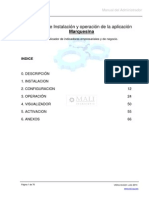 Marquesina Electronica Spanish Manual