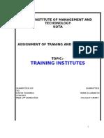 Training Institute