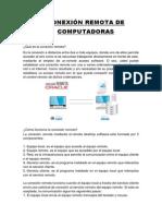 Conexión Remota de Pc, Vozip y Compartir Docs