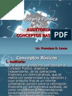 Conceptos de Auditoría
