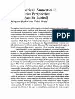 Popkin and Bhuta 1999 Latin American Amnesties in Comparative Perspective. Can the Past Be Buried¿