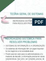 2.Abordagens Sistêmica Para Resolver Problemas.