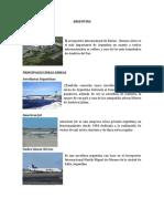 Aeropuerto y Principales Lineas Aereas de Paices Americanos