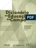 Dicionario Da Educacao Do Campo