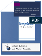 Evangelismo - cuadernillo