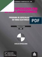 Escuelas Especializadas ERM 2014 - Expertos Jurisdiccionales