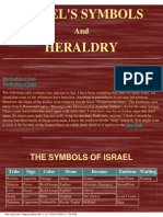 ISRAEL'S SYMBOLS And HERALDRY
