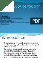 Fluoride Toxicity Seminar