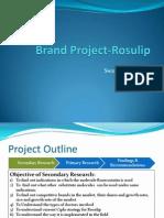 Brand Project-Swapnil Waichale
