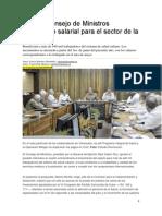 Diario Granma Noticia Reajuste Salarial