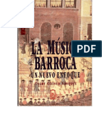 La Musica Barroca Oscar Ohlsen INTERPRETACION