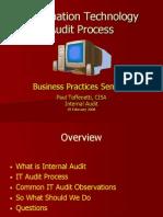 IT Audit Process