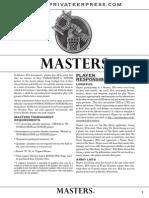 Masters 2014 Print
