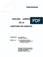 Analisis Juridico de La Auditoria