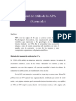 Manual de Estilo de La APA