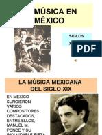 FICHA 26. LA MÚSICA EN MÉXICO (Siglos XIX y XX)