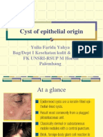 Cyst of Epithelial Origin