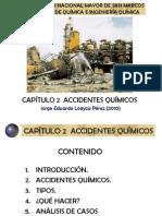 Sehi - Capítulo 2-1 (2010-1) Accidentes Químicos