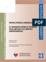 Cuadernos de Investigación Nº23 El Tránsito Entre El Trabajo Asalariado y El Empleo Independiente