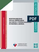 Cuadernos de Investigación Nº25 Responsabilidad Social Empresarial. Alcances y Potencialidades en Materia Laboral