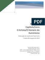 140520 Resenha O Artista Daniel Arasse UFMT - Copia