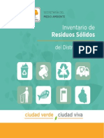 Inventario Residuos Solidos 2012