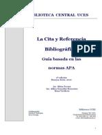 Citas Bibliograficas APA 2011