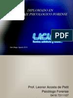 MODULO I Curso Peritaje Psicologico Forense Unidad [1]
