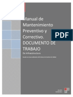 Manual de Mantenimiento Preventivo y Correctivo