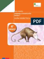4basico-Guia Didactica Lenguaje