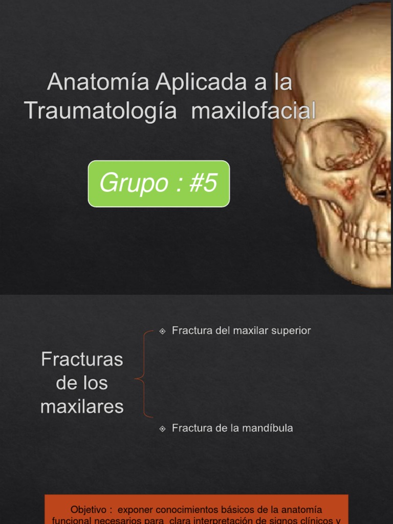 Anatomía Aplicada a La Traumatología Maxilofacial(1)