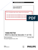 Ds 74hc42 Decodificador Bcd a Decimal