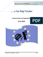 Lighthouse - European New Car Registrations - 2014 - June