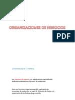 Organizaciones de Negocios (1) (2)