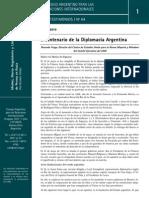 Bicentenario de La Diplomacia Argentina