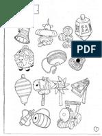 dibujo juguetes