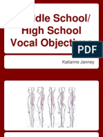 secondary school vocal curriculum 9